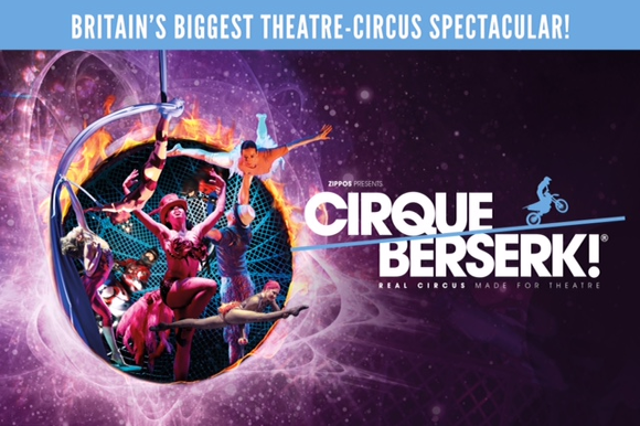 Cirque Berserk! to play Guildford in 2018 to celebrate 250th anniversary of the invention of circus