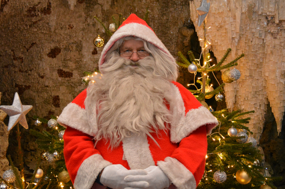 Father Christmas at Painshill Park