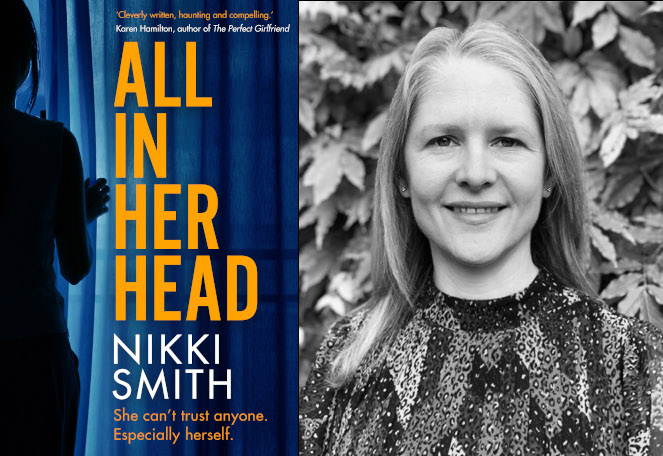 All In The Head book cover and author photo