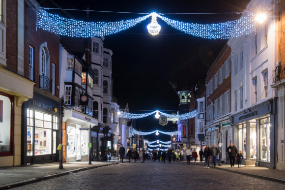 Christmas Lights Switch-on in Guildford