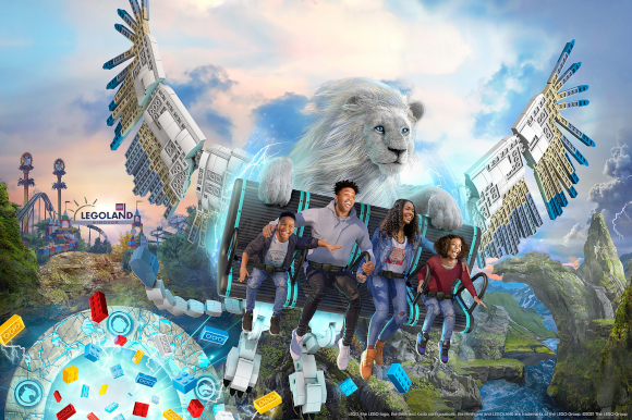 The UK's first flying theatre ride to open at the Legoland® Windsor Resort