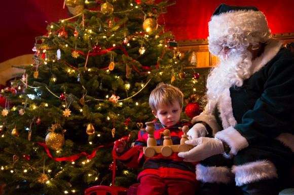 Father Christmas at Hatchlands Park