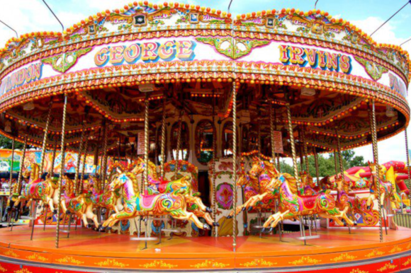 Victorian Carousel at Hatchlands Park