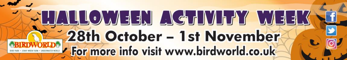 Halloween Activity Week at Birdworld