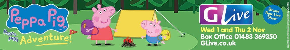 Peppa Pig's Adventure at GLive, Guildford