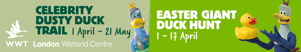 Easter activities at London Wetland Centre