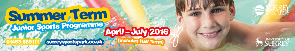 Summer junior sports at Surrey Sports Park