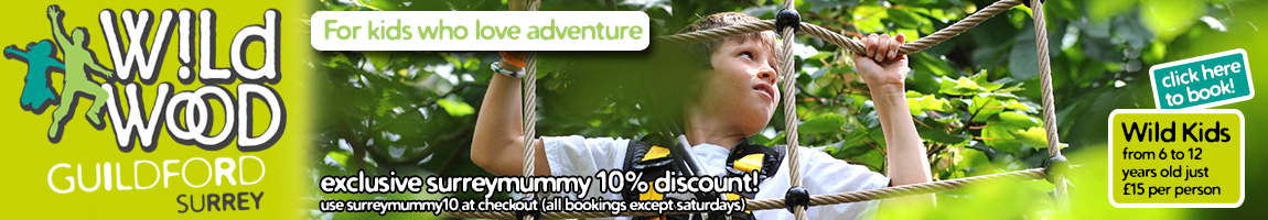 Wild Wood Adventure 10% discount