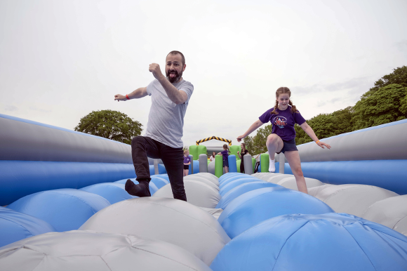 Giant inflatable wonderland comes to Kempton this weekend
