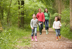 Family walks & cycles in Surrey