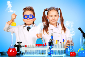 Science entertainers